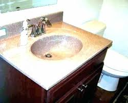 cultured marble vanity tops cleaning sinks how to polish clean top with bathroom stains