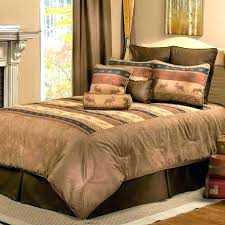 moose sheets bedding sets set great lodge cabin place with regard to flannel canada