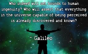 Discovery Quotes Classy Galileo Quote On Human Ingenuity The Universe And Discovery