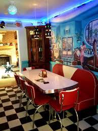Retro Kitchens Pinterest Retro Kitchen Chairs Blue Restyled Vintage Shabby Chic Retro