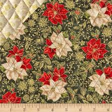 Celebrate the Season Double Sided Quilted Poinsettia Green ... & zoom Celebrate the Season Double Sided Quilted Poinsettia Green Adamdwight.com