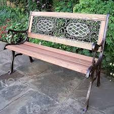 iron casting bench parts patio