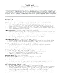 Casting Director Resume Theatre Producer Cover Letter Goprocessing Club