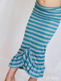 Mermaid Skirt Pattern New 48minute Mermaid Skirt Tutorial Girl Inspired