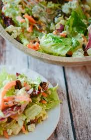 make outback steakhouse s bleu cheese pecan chopped salad at home with mixed greens and cinnamon pecans