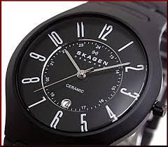 bright rakuten global market skagen x2f ceramic men x27 s skagen ceramic men s watch black dial black ceramic belt 817 lbxc overseas models