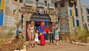 the new legoland castle hotel is now open for a magical knights stay print