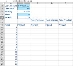 Loan Calculator Excel Formula Diyrecipes Club