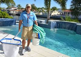 swimming pool; pool cleaning service