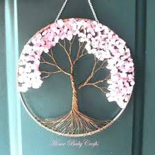 wall hanging ideas handmade decoration never miss this tree of life decor for craft making with