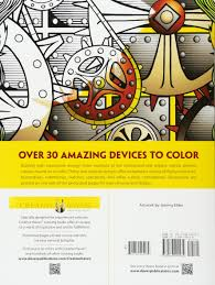 amazon creative haven steunk devices coloring book coloring 0800759494439 jeremy elder creative haven books