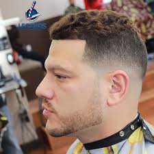 high and tight for wavy hair