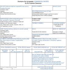 Commercial Invoice Commercial Invoice Preparation Eamer Kodak