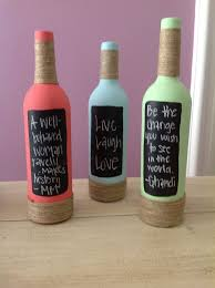 Glass Bottle Decoration Ideas 100 Best Bottle Ideas Images On Pinterest Decorated Bottles 52