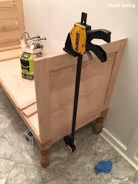 building a bathroom vanity. How-to-build-60-inch-DIY-bathroom-vanity - Building A Bathroom Vanity H