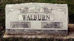 WALBURN, MABEL - Gallia County, Ohio | MABEL WALBURN - Ohio Gravestone  Photos