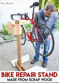 diy bike repair stand tutorial need a