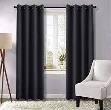 Black living room curtains Decorating Image Unavailable Image Not Available For Color Nicetown Black Curtains Window For Living Room Amazoncom Amazoncom Nicetown Black Curtains Window For Living Room black