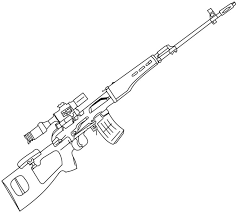 Small Picture Sniper Nerf Gun Coloring Pages Pinterest Guns