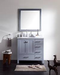 36 inch bathroom vanity with top. Bathroom:Ariel Cambridge Bathroom Vanity With Offset Sink Ariel 36 Inch Top
