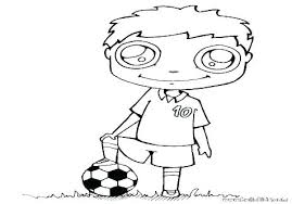 Soccer Coloring Pages Printable Coloring Pro