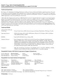 Ideas Of Dba Sample Resume With Proposal Huanyii Com
