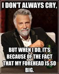 Big Forehead Jokes | Kappit via Relatably.com