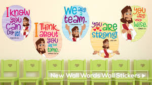 wall words wall stickers children s ministry table runners