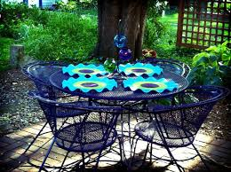 painted metal patio furniture. Reader Re Do A Colorful Patio Furniture Makeover Painted Metal Patio Furniture