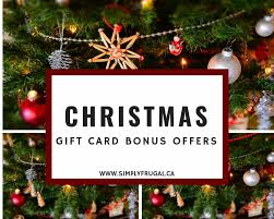 Gift Cards For Christmas Christmas Gift Card Deals