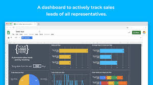 Track Sales Leads Leads Tracking Management Template Sheetgo