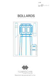 Bollard Foundation Design Bollards Issue 01 By Townscape Products Limited Issuu