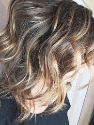 Soft Brunette With Blonde Balayage Hair