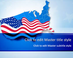 america ppt template free usa powerpoint templates