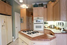 gas cooktop island. KitchenAid Gas Cooktop Kitchen Island With Tiled Counters Flickr Photo N