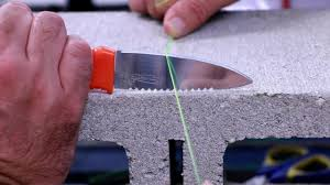 Braid Vs Mono Line Diameter Torture Test On Brick And Knife