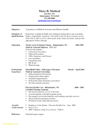 Ma Resume Templates New Cma Accountant Resume Sample Free Medical