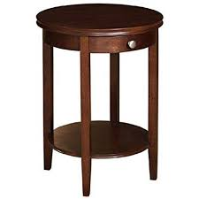 Cherry accent table Butler Specialty Image Unavailable Amazoncom Amazoncom Powell 998506 Shelburne Accent Table Cherry Kitchen