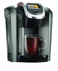 Coffee Maker Carafe And Single Cup Keurigr Hot 20 K575 Plus Series Brewing System In Platinum Bed