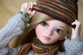 Cute Baby Barbie Doll Wallpaper