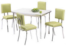retro kitchen dining sets. commercial quality adult size retro diner table \u0026 chair sets retro kitchen dining sets g