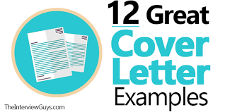 Resumes Cover Letters Samples 12 Great Cover Letter Examples For 2019