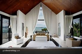 Beadboard covered ceiling as I imagine with similar vaulted window .