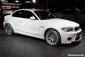BMW Convertible bmw 350 coupe : Geneva 2011: Alpine White BMW 1M