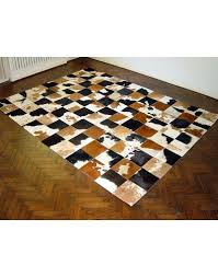 patchwork cowhide rugs black brown and white patchwork cowhide rug x024 faux fur