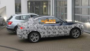 BMW X4 interior spy shots - Photos (1 of 9)