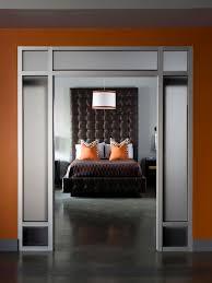 Orange And Brown Bedroom Gray Master Bedrooms Ideas Hgtv