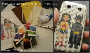 stitch your own cell phone case tutorial