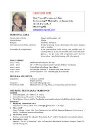 100 Resume Templates You Can Download Jobstreet Philippines
