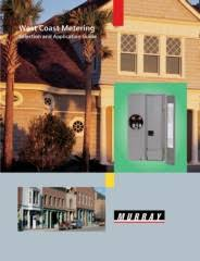 circuit breaker enclosures and west coast metering small pages 1 32
